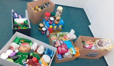 Poděkování našim zaměstnancům - potravinová sbírka