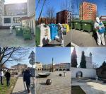 Plošná dezinfekce městských prostor